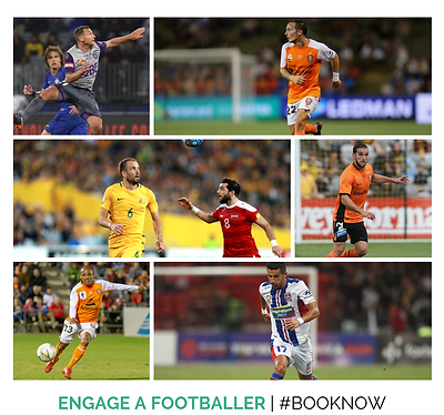 Engage A Footballer, A-League, Athlete, Agency X Talent, Footballers, Athlete Marketing,
