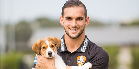 Jack Hingert, Brisbane Roar, Professional Football Player, RSPCA Ambassador, Agency X,