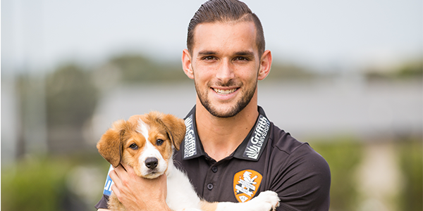 Jack Hingert RSPCA Ambassador Agency X Talent Athlete Footballer