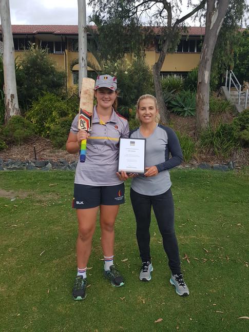 Jodie Fields, Australian Women's Cricket, Scholarship Recipient, Jodie Fields Scholarship Program, Jodie Fields Young Cricketer Development Scholarship, Agency X