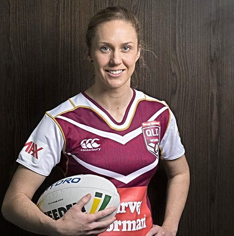 Karina Brown, NRLW, Brisbane Speakes, Athete Speakers, Agency X Talent, Rugby League,