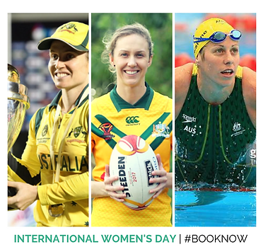 International Womens Day, IWD, Speakers, Australian, Female Athletes, Agency X Talent,
