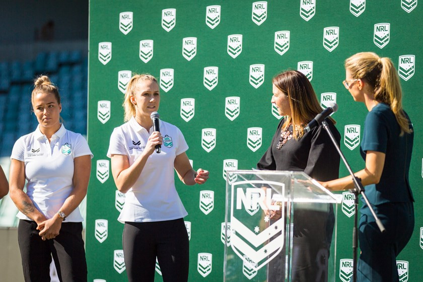 Karina Brown NRLW Player Agency X Talent