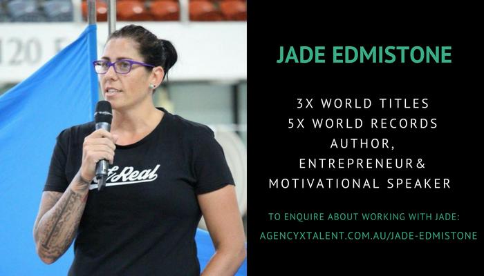 Jade Edmistone Australian Swimming Champion Agency X Talent