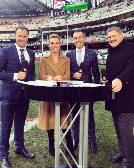 Abbey Holmes, Channel 7, AFLW Player, AFL Mens, AFL Broadcasting