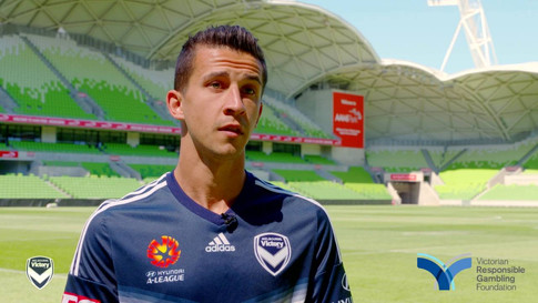 Melbourne Victory, Professional Football Player,  Victorian Responsible Gambling Foundation, Australian Footballer, Daniel Georgievski,