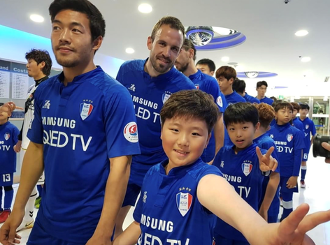 Matthew Jurman, K-League, Suwon Samsung Bluewings, Professional Football Player, Agency X