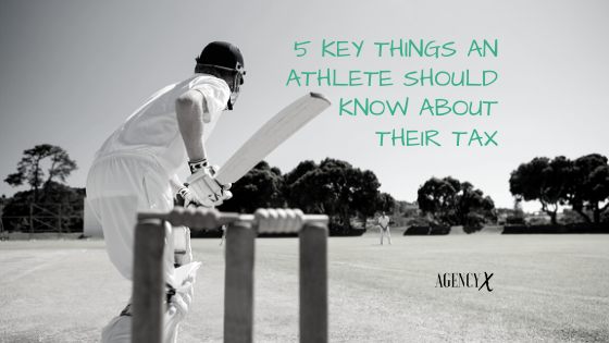 Five Key Things An Athlete Should Know About Their Tax