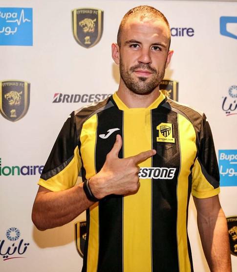 Matthew Jurman, Agency X, Ittihad FC, Ittihad Tigers, Professional Footballer, Foreign Footballer, Australian Footballer,