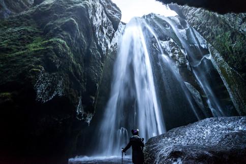 Iceland's Gljúfrabúi Waterfall