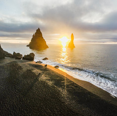 Vik Black Sand Beach, Iceland