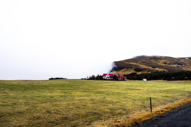 Misty Day in Iceland