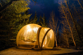 A Night in Iceland's Bubble Hotel
