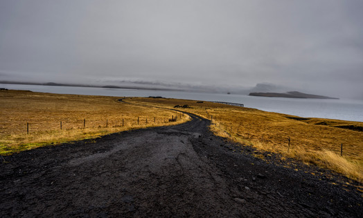 Road to Hvitsärk Iceland