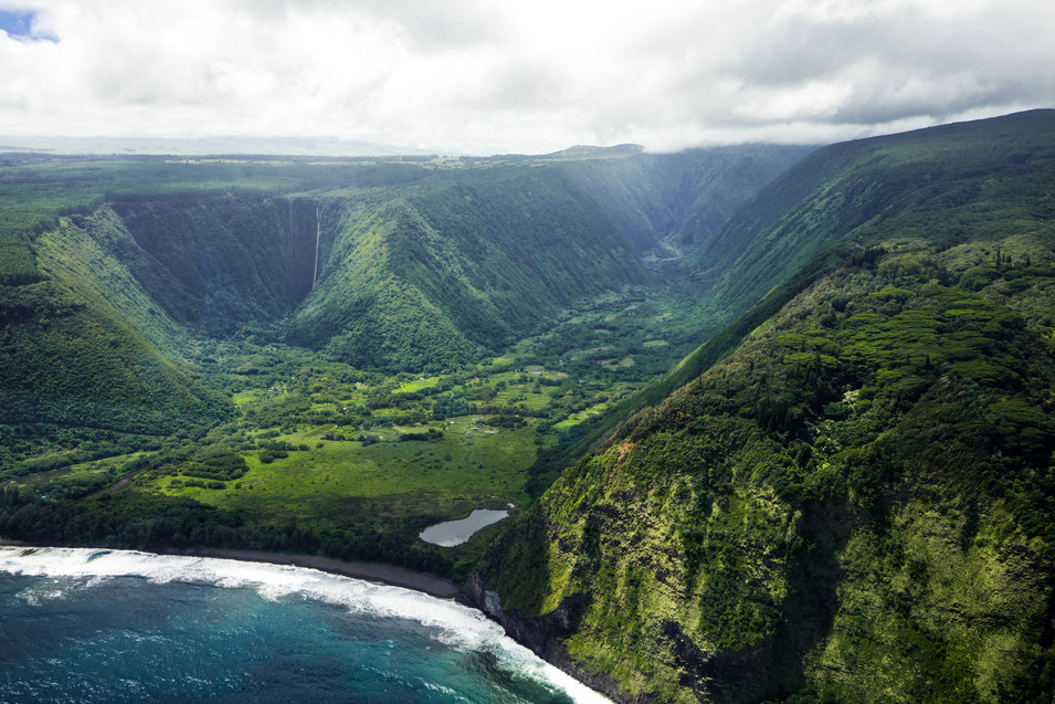View From Helicopter Tour in Hawaii