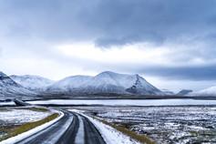 Iceland Ring Road to Kirkjufellsfoss in Iceland