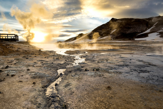 Iceland's Myvatn Nature Bath