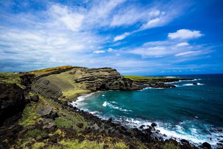 Papakōlea Green Sand Beach, Hawaii