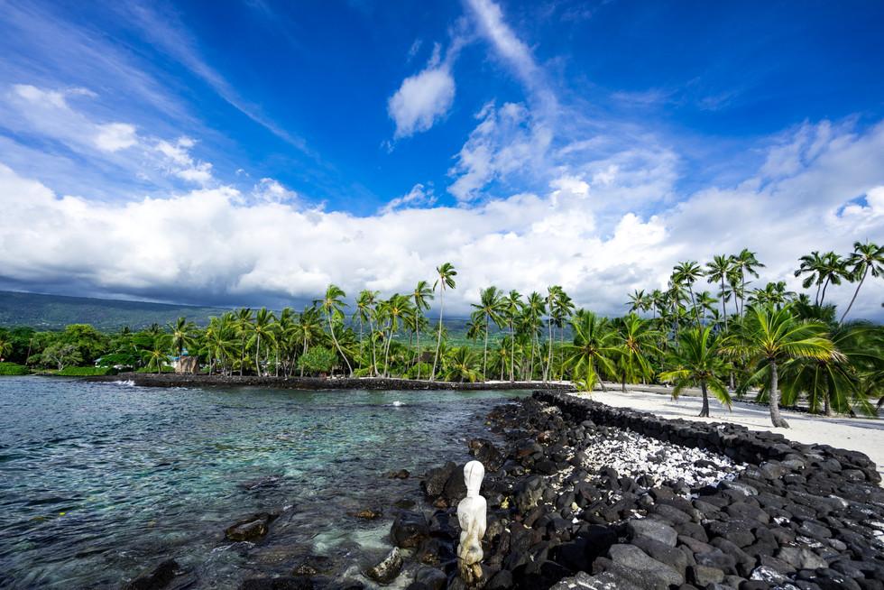 City of Refuge, Big Island, Hawaii