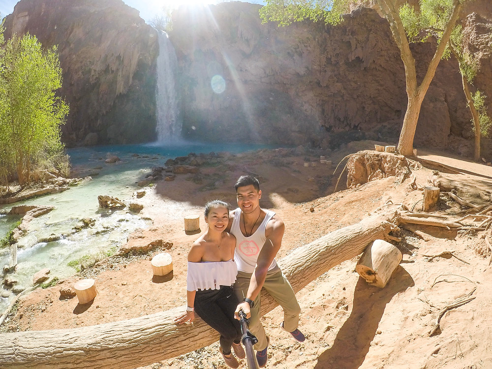 Havasu Falls in Havasupai Indian Reservation