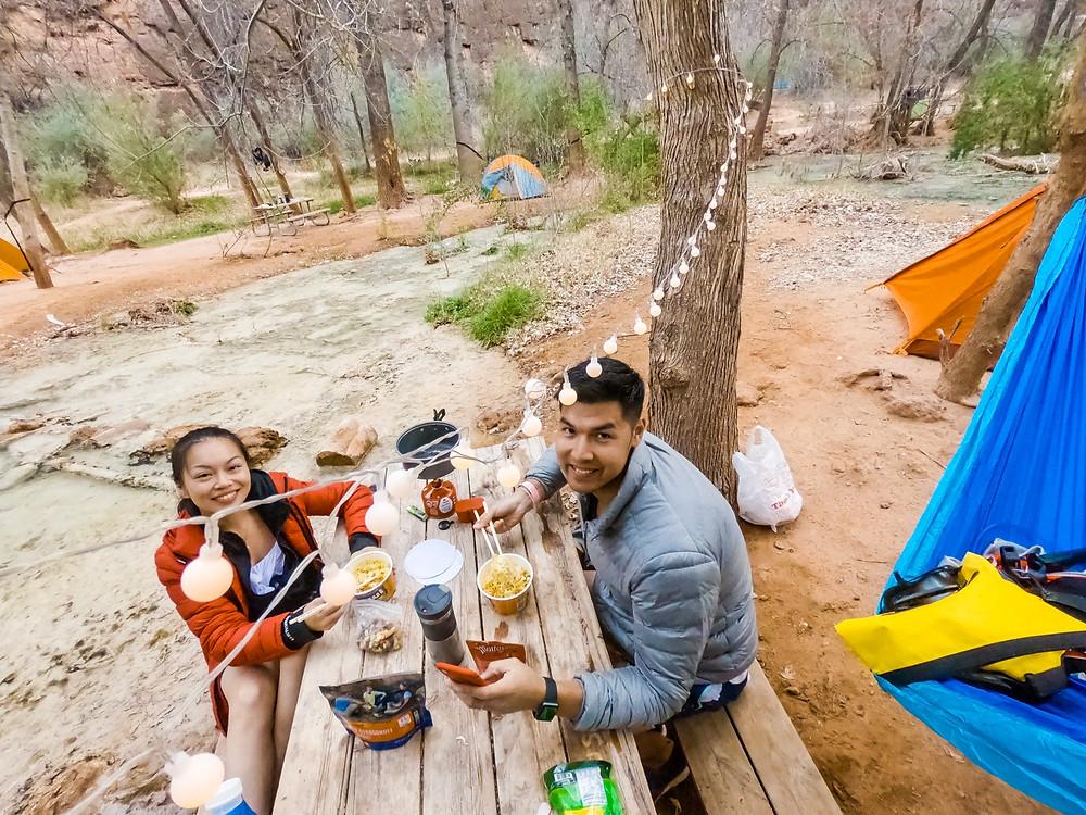 Instant Noodles & Freeze Dried Meals at Havasupai