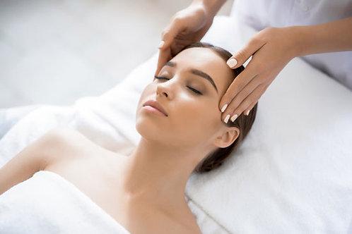 Massage Japonais du Visage et Cuir Chevelu