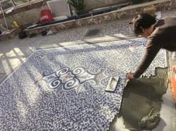 pose-tapis-mosaique-marbre