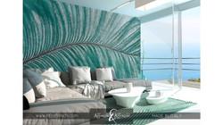 decoration-murale-feuilles