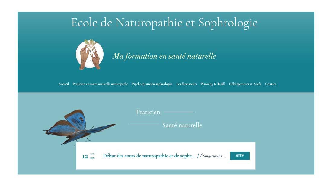 Ecole de Naturopathie Sophrologie