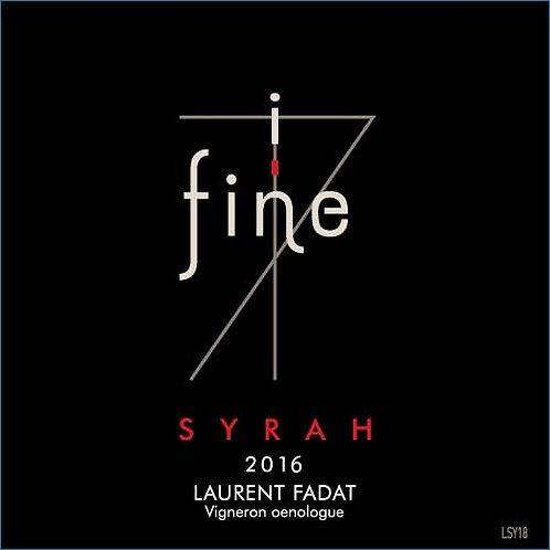 In fine Syrah 2016