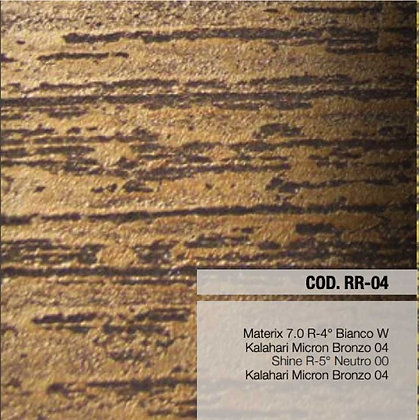 Kit Materix Effetto Roccia Rigata Teinte : COD RR-04