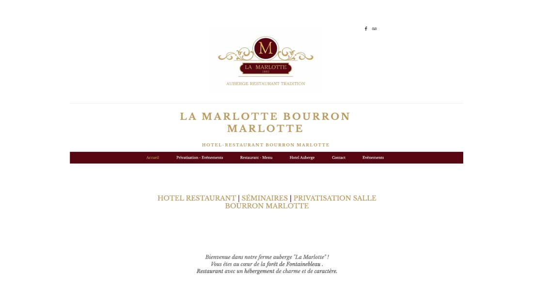 Restaurant La Marlotte
