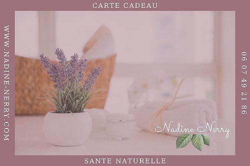 Carte Cadeau Santé Naturelle