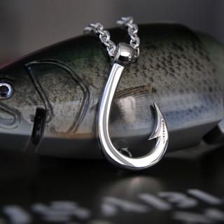 Hookz_釣り針Hookzの釣り針ネックレスとロマンメイドネックレスgl0027