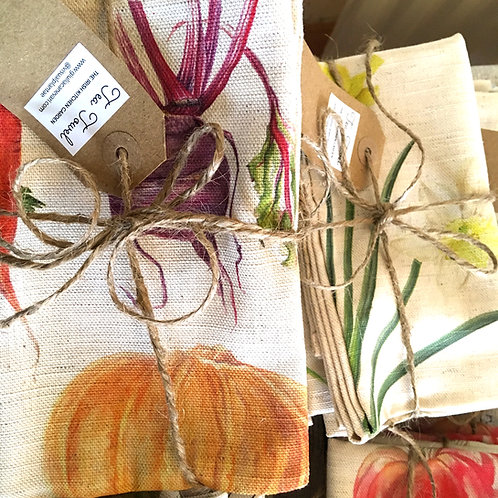 4 tea towels DEAL- The Irish Kitchen Garden