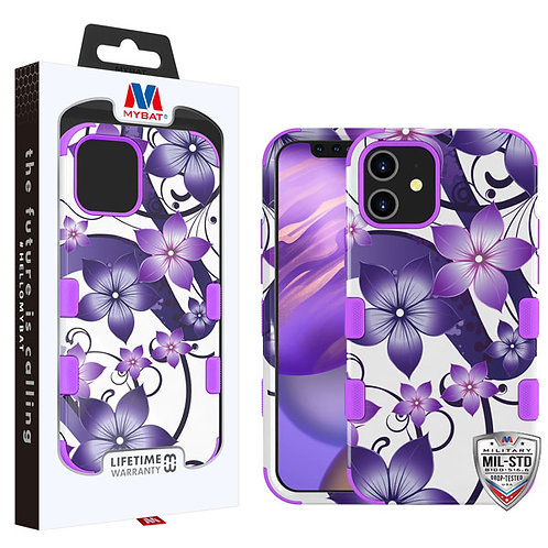 MyBat TUFF Hybrid Protector Case [Military-Grade Certified] for Apple iPhone 12