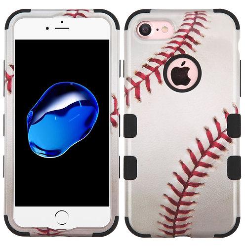 Iphone 7/8 Baseball/Black TUFF Hybrid