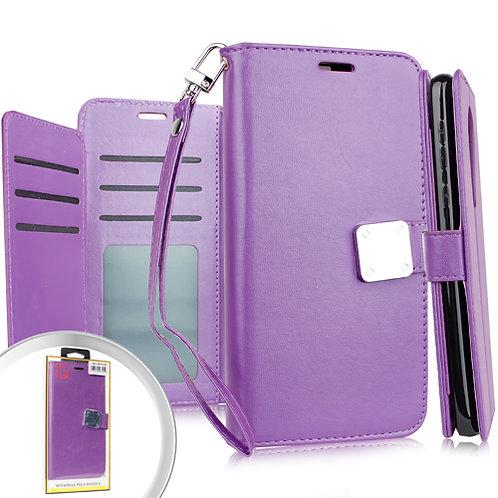 Samsung S20 ULTRA 6.9 Deluxe Wallet w/ Blister Purple
