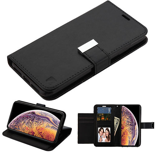 AIPHONEXSPLUSMYJKGE031WP_Black_Black MyJacket Wallet Xtra Series (GE031) -WP