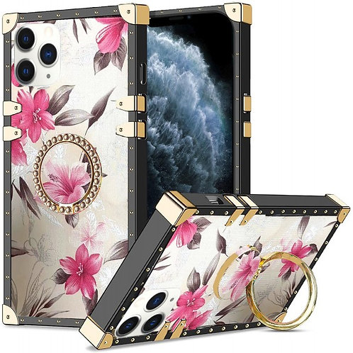 iphone 12 pro Max-VINTAGE OPULENCE - PINK LILY WHITE SKY