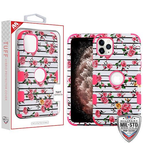 APPLE iPhone 11 Pro Max - Mybat Pink Fresh Roses/Electric Pink TUFF Hybrid Phone