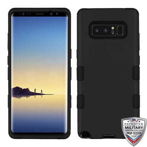 Samsung Galaxy Note8 Rubberized_Black TUFF Hybrid Phone Protector Cover
