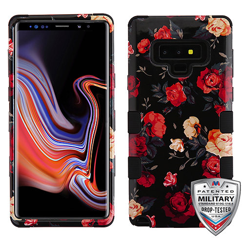 Samsung Note9 Rose_Black TUFF Hybrid Protector Cover