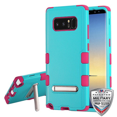 Samsung Galaxy Note8 Natural Teal Green_Electric Pink TUFF Hybrid Protector Cove