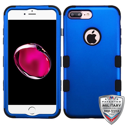 Iphone 7/8 Plus Titanium Dark Blue/Black TUFF Hybrid