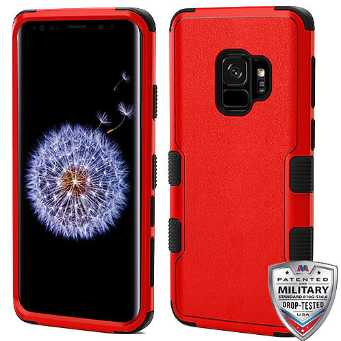 Samsung S9 Natural Red_Black TUFF Hybrid Phone Protector Cover