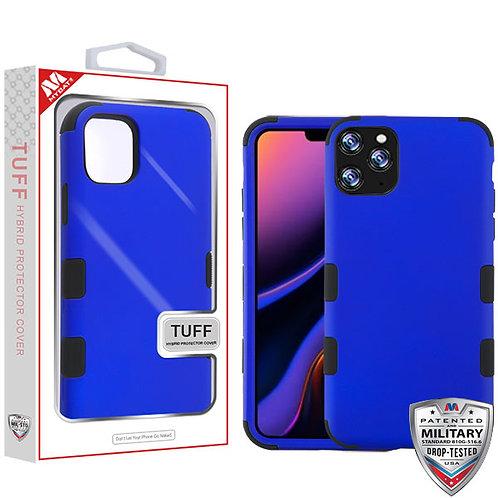 Iphone 11 Pro Max Titanium Dark Blue_Black TUFF Hybrid