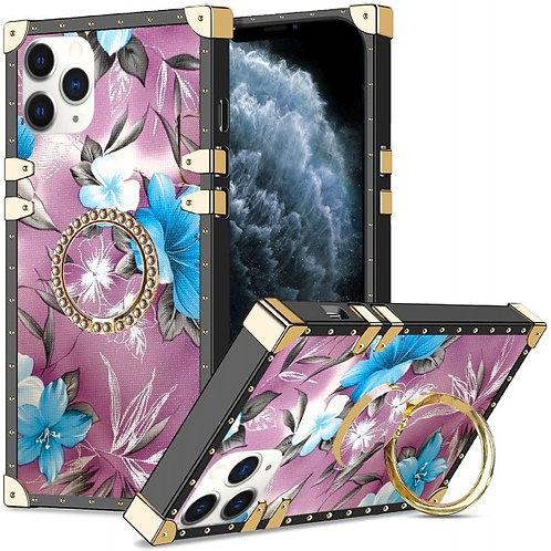 iphone 11 pro Max-VINTAGE OPULENCE - BLUE LILY PURPLE SKY