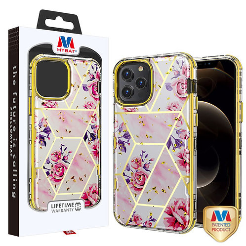 MyBat TUFF Kleer Hybrid Case for Apple iPhone 12 Pro Max (6.7) - Electroplated R