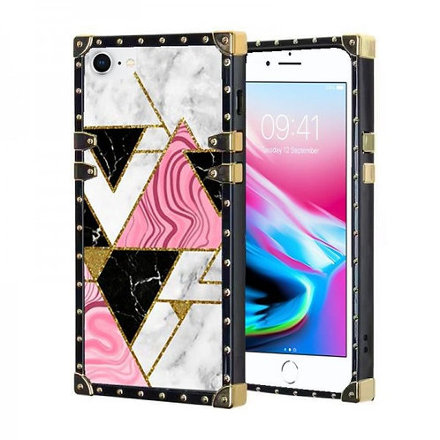 iphone 7-8-SE-VINTAGE OPULENCE - PINK TRIANGLE
